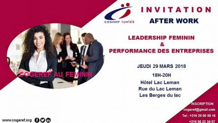 After work : Leadership féminin & Performance des entreprises